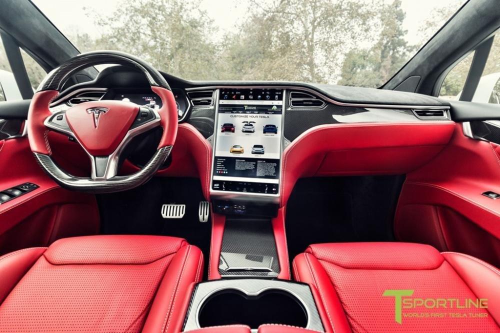"""Tesla Model X độ nội thất siêu sang nhà Bentley """"hét"""" giá 180.000 USD a5"""