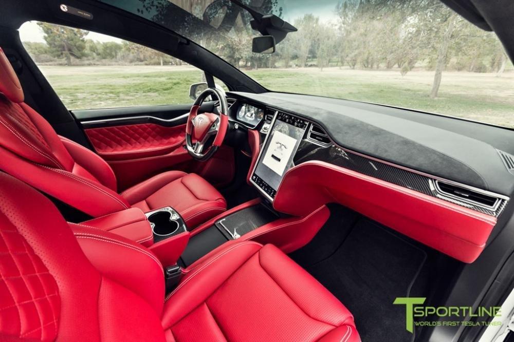 """Tesla Model X độ nội thất siêu sang nhà Bentley """"hét"""" giá 180.000 USD a4"""