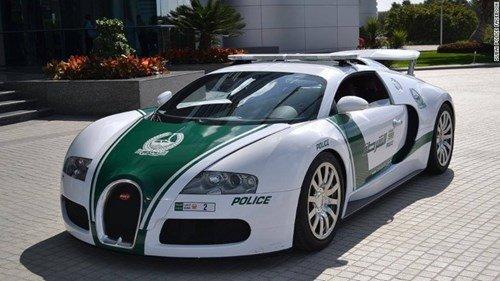 Siêu xe cảnh sát nhanh nhất Thế giới.