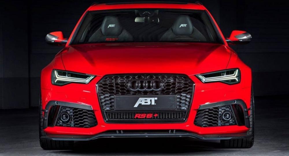 Audi RS6+ ABT hé lộ thêm hình ảnh chính thức.