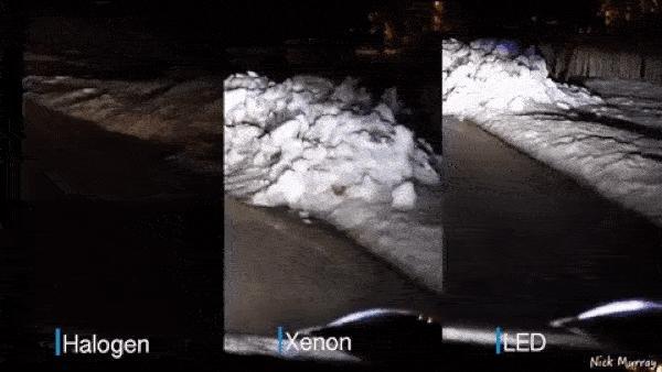 Halogen - Xenon - LED: Đèn nào sáng hơn? 1