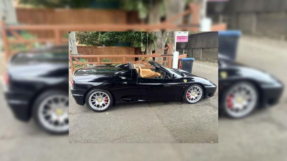 Ferrari 360 Spider của David Beckham lên sàn đấu giá, hét 2,7 tỷ đồng 4