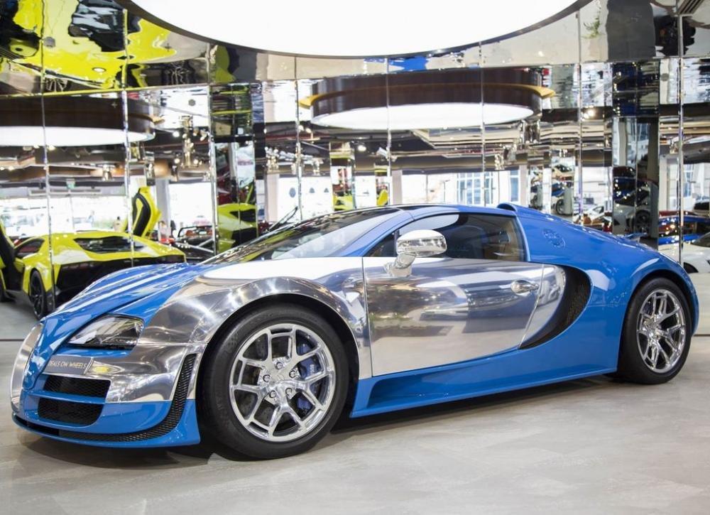 Bugatti Veyron hiếm lên sàn, hét giá triệu đô.