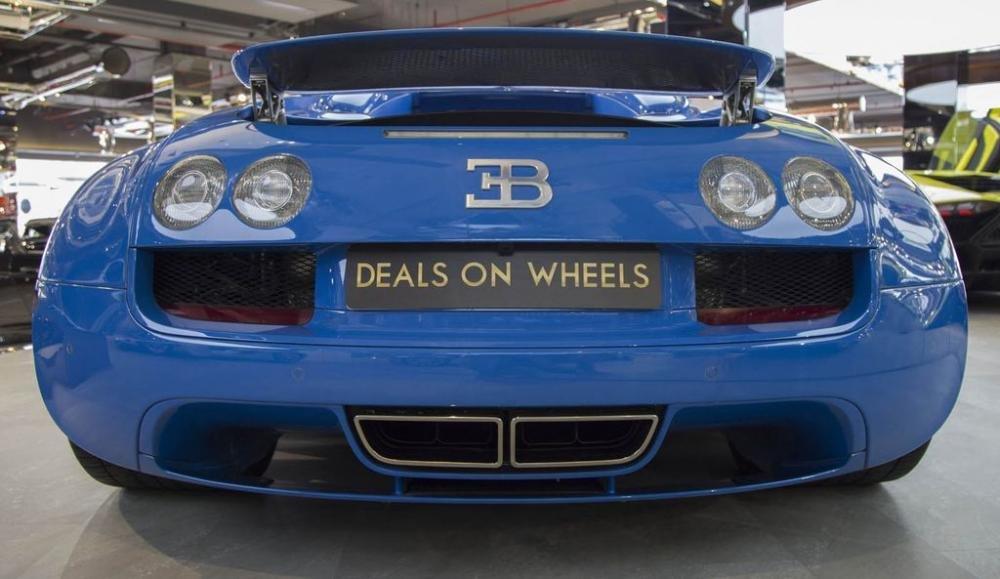 Bugatti Veyron hiếm lên sàn, hét giá triệu đô 5