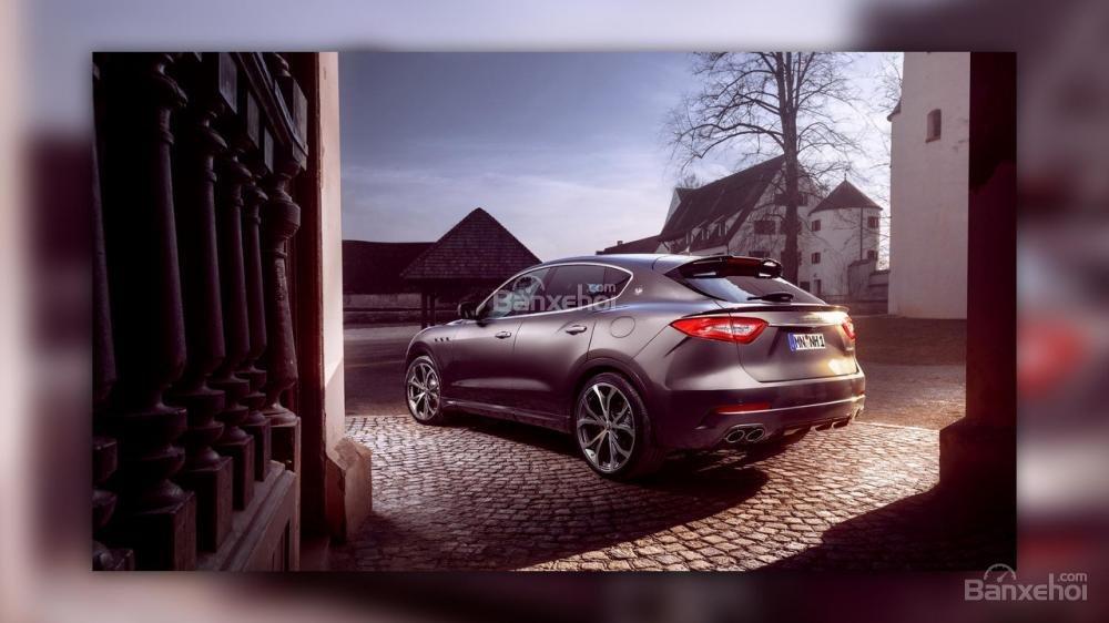 Maserati Levante nâng cấp sở hữu thân xe carbon và động cơ mạnh mẽ hơn 4