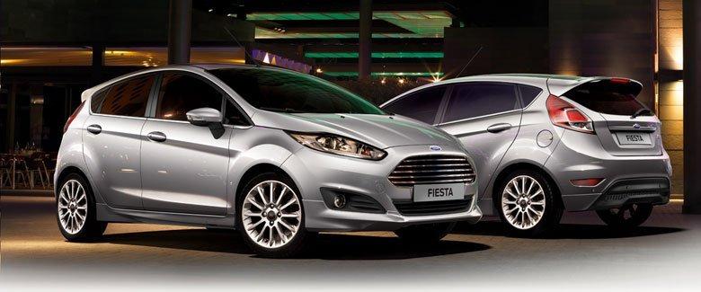 So với phiên bản cũ, thiết kế của Ford Fiesta 2016 đơn giản và thon gọn hơn 1