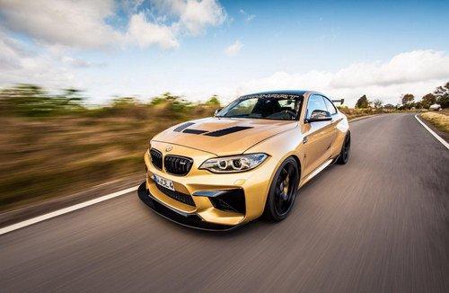 BMW M2 cho Huracan hít khói nhờ độ Manhart5