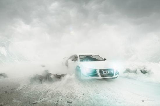 Đột nhập hậu trường chụp hình ảnh quảng cáo siêu đẹp của xe Audi 2