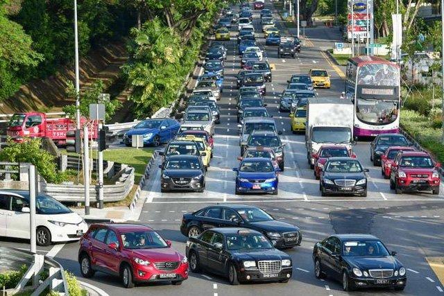 Chi phí sở hữu xe ở Singapore tăng cao kỷ lục 1