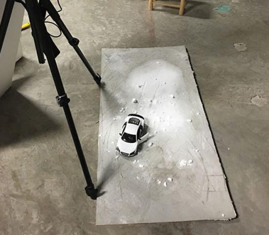 Đột nhập hậu trường chụp hình ảnh quảng cáo siêu đẹp của xe Audi 4