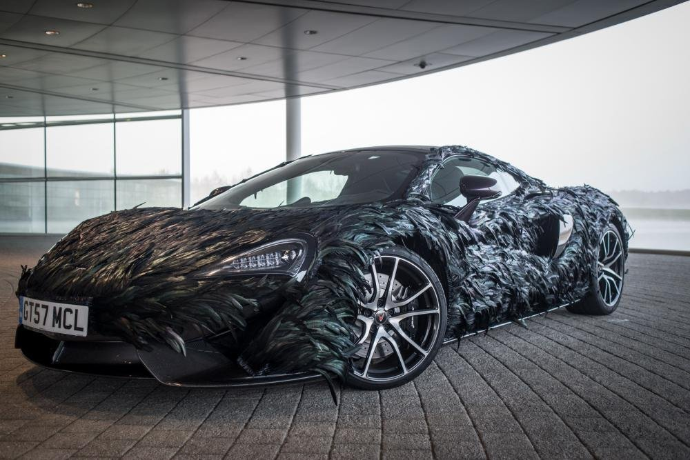 """McLaren 570GT hóa """"quạ đen"""" dị khó tả 2"""