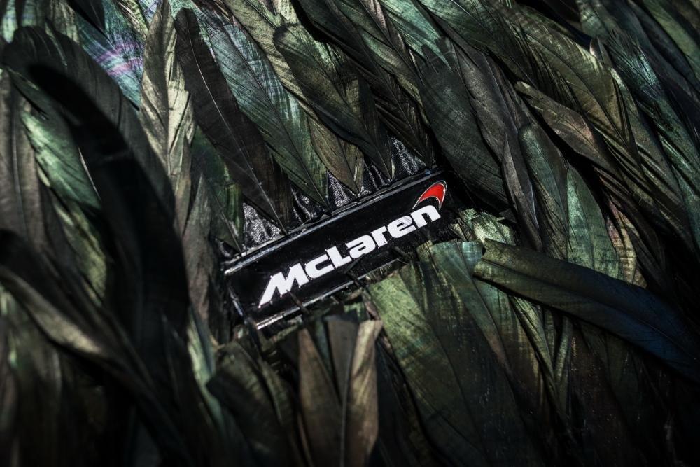 """McLaren 570GT hóa """"quạ đen"""" dị khó tả 6"""