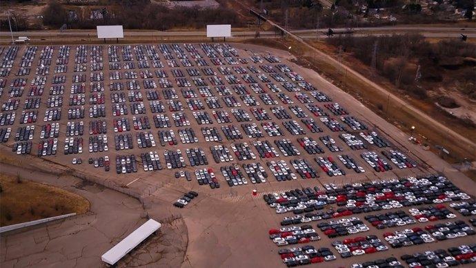 Kinh hoàng ngắm bãi rác xe Volkswagen gian lận khí thải.