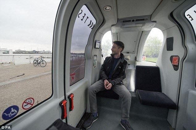 London bắt đầu thử nghiệm xe tự lái 2