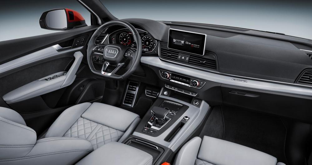 Đánh giá xe Audi Q5 2017: Dù kích thước nhỏ gọn nhưng nội thất mang lại cảm giác rộng rãi 1