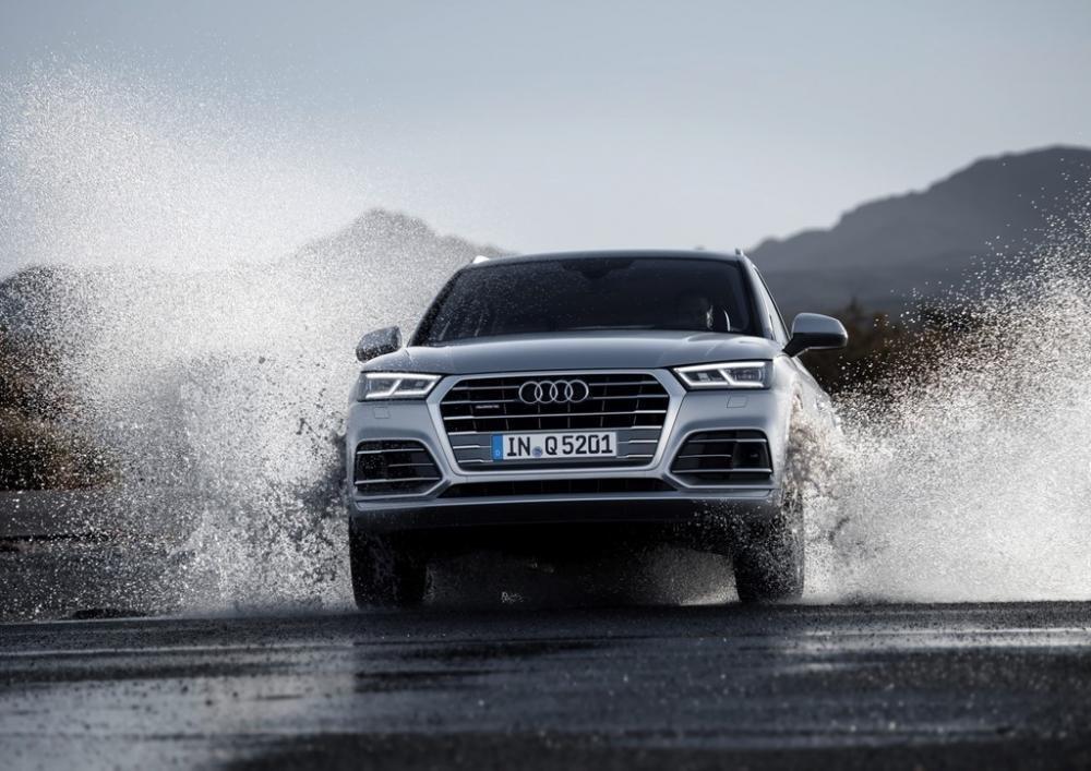 Audi Q5 2017 nhận được 4 trong tổng số 5 ngôi sao dành cho hệ thống bảo vệ va chạm phía trước 1