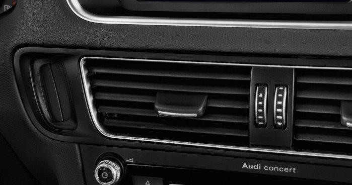 Đánh giá xe Audi Q5 2017: Khe hút gió điều hòa 1