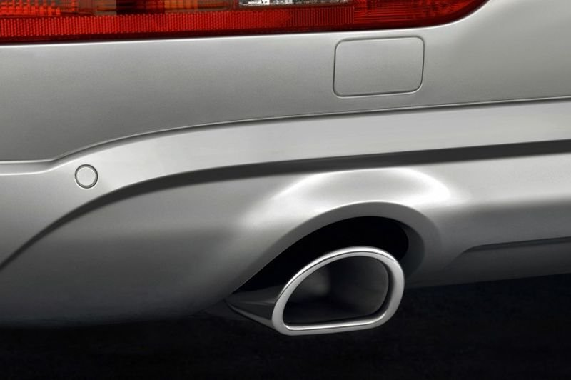Đánh giá xe Audi Q5 2017: Cụm ống xả thể thao 1