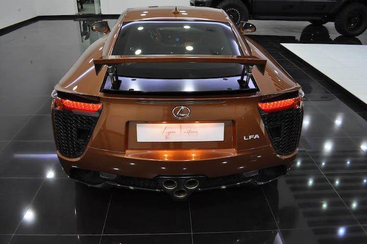 Ngắm siêu xe Lexus LFA màu độc giá 14,6 tỷ đồng - ảnh 8