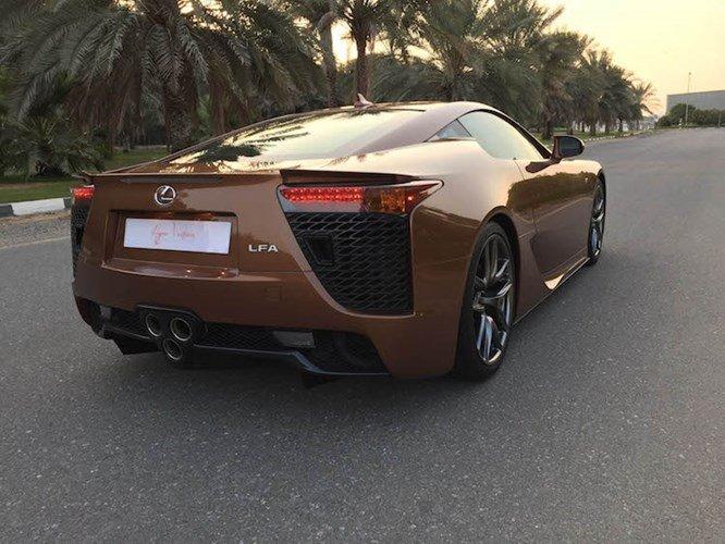 Ngắm siêu xe Lexus LFA màu độc giá 14,6 tỷ đồng - ảnh 5