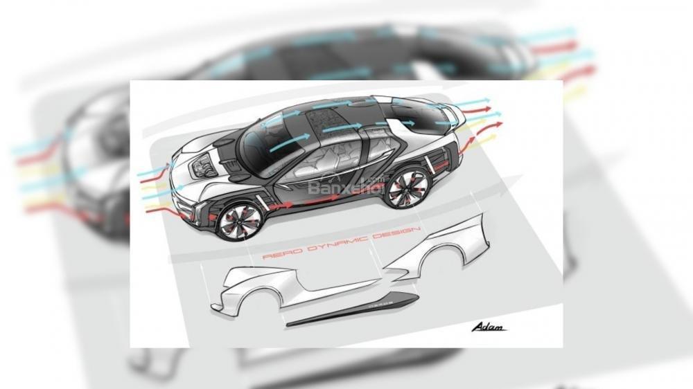 Rò rỉ hình ảnh siêu xe điện Qoros Koenigsegg K-EV 3