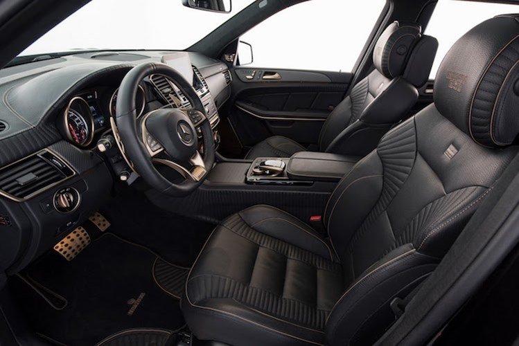 Nội thất mạ vàng của Mercedes GLS Brabus 1