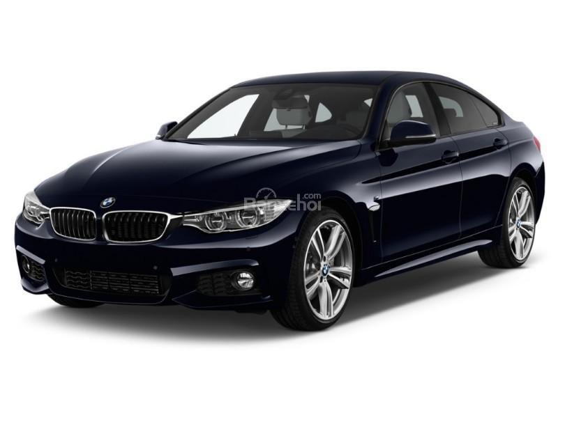 Đánh giá xe BMW 4-Series 2017: Thiết kế đầu xe khá nhã nhặn.