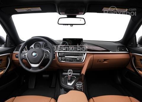 Đánh giá xe BMW 4-Series 2017: Khoang cabin sang trọng.