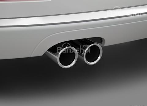 Đánh giá xe BMW 4-Series 2017: Ống xả kép một bên.