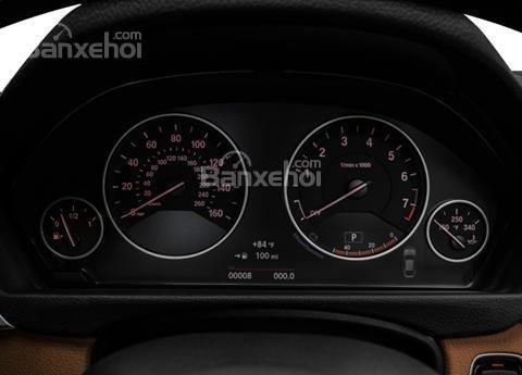 Đánh giá xe BMW 4-Series 2017: Cụm đồng hồ trên xe.