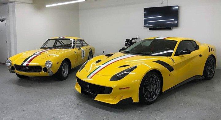 Ferrari F12tdfDSKL dễ dàng được nhận ra bất chấp có những chiếc độc đáo không kém.