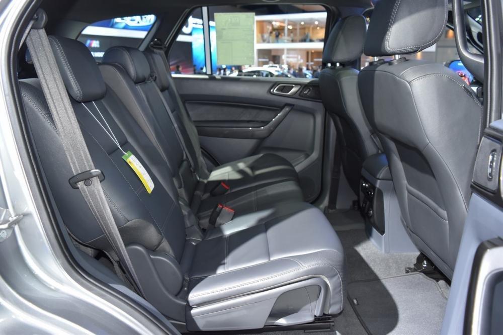 Hệ thống ghế ngồi trên Ford Everest 2017 dành cho thị trường Thái Lan a1