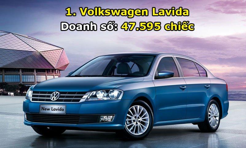 1. Volkswagen Lavida.