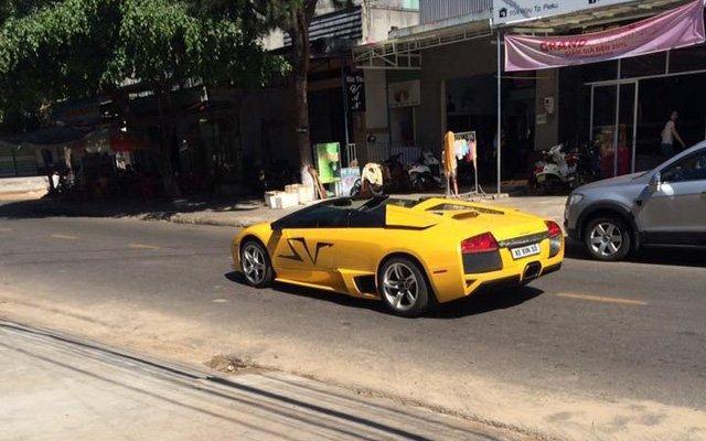 siêu xe Lamborghini Murcielago LP640 mui trần độc nhất Việt Nam xuất hiện tại Gia Lai - ảnh 2