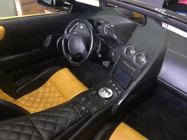 siêu xe Lamborghini Murcielago LP640 mui trần độc nhất Việt Nam xuất hiện tại Gia Lai - ảnh 3