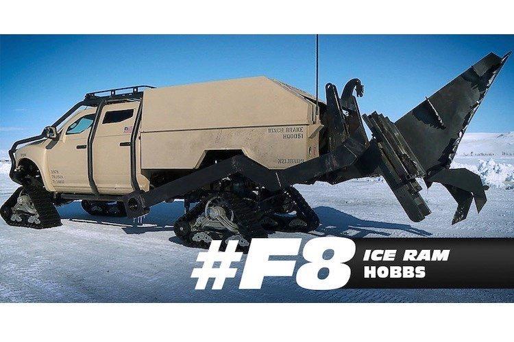 """Dàn xe khủng trong """"bom tấn"""" Fast & Furious 8 - ảnh 18"""