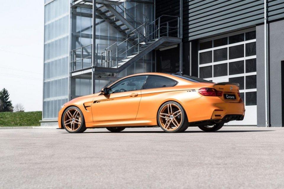 BMW M4 với nhiều tinh chỉnh khiến bất cứ fan tốc độ nào cũng phải phấn khích.