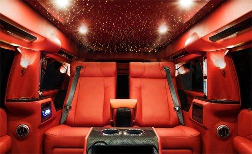 Ngắm nội thất xa xỉ trong mơ trên Cadillac Escalade độ 3