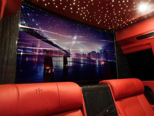 Ngắm nội thất xa xỉ trong mơ trên Cadillac Escalade độ 5