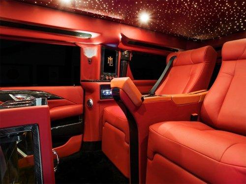 Ngắm nội thất xa xỉ trong mơ trên Cadillac Escalade độ 4