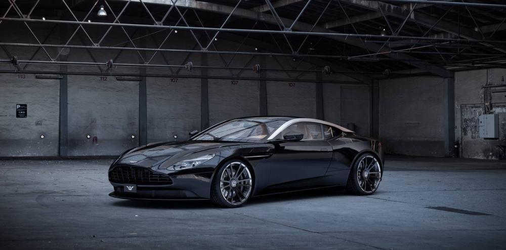 Aston Martin DB11 dữ dằn.