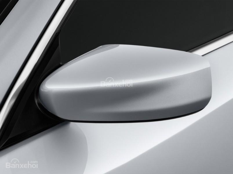 Đánh giá xe Nissan Altima 2017: Gương chiếu hậu tích hợp LED.