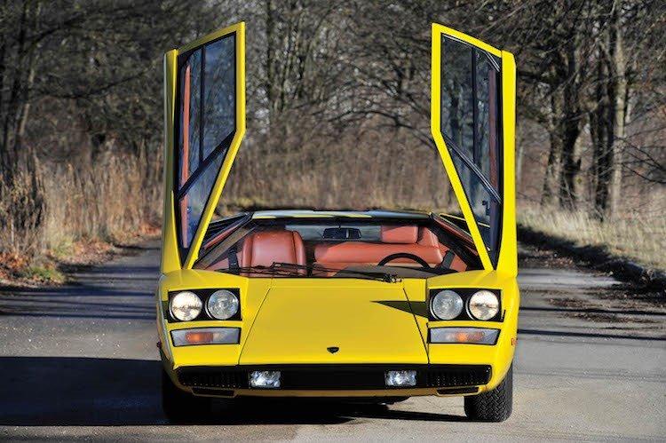 Lamborghini Countach 6.