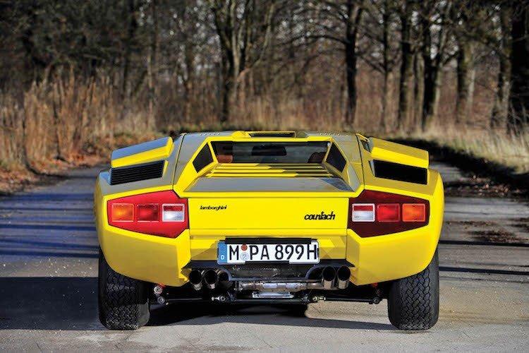 Lamborghini Countach 7.