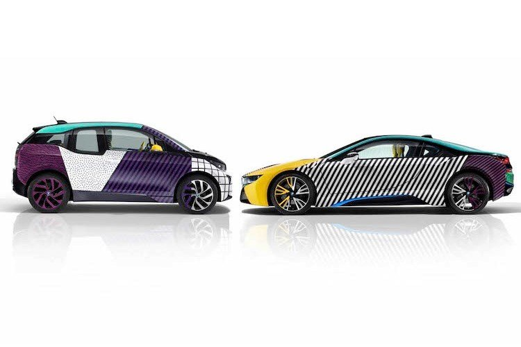 """Chiêm ngưỡng cặp đôi """"siêu xe xanh"""" BMW i3 và i8 cực chất 1"""