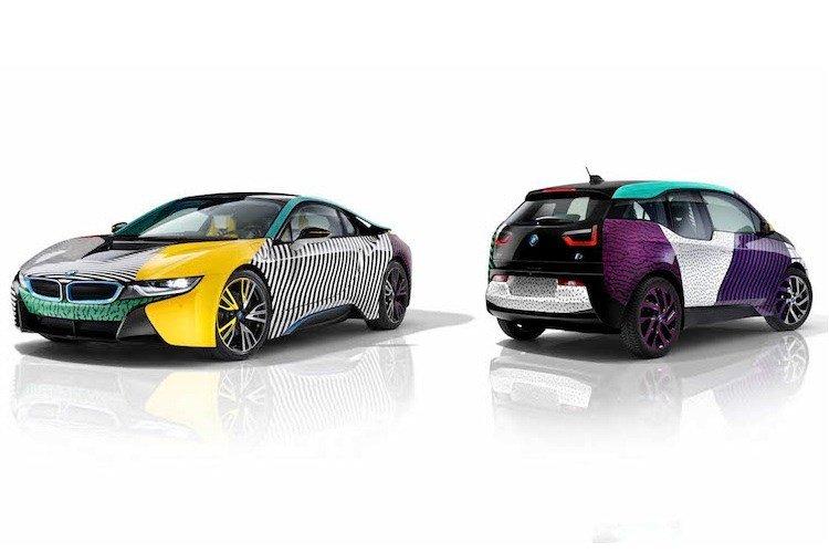 """Chiêm ngưỡng cặp đôi """"siêu xe xanh"""" BMW i3 và i8 cực chất."""