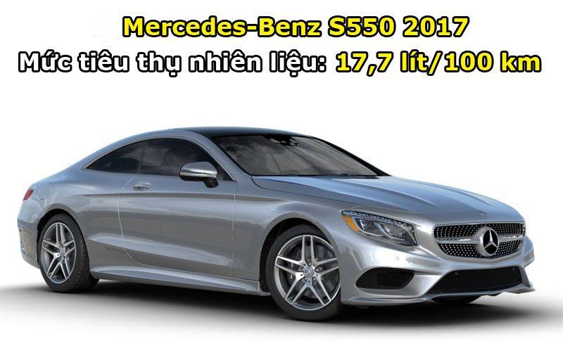 Mercedes-Benz S550 2017.