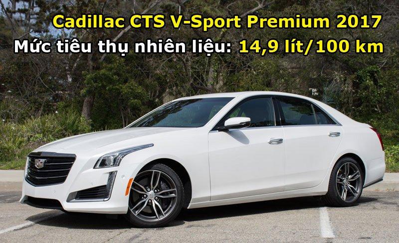 Cadillac CTS V-Sport Premium 2017.