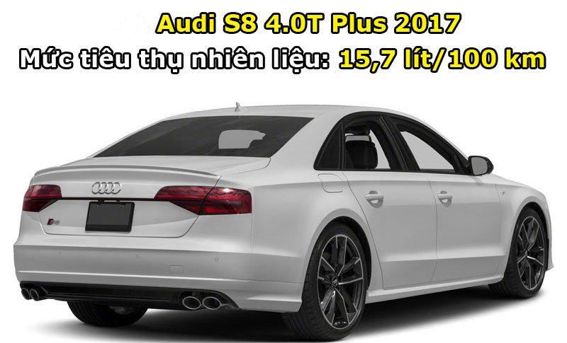 Audi S8 4.0T Plus 2017.