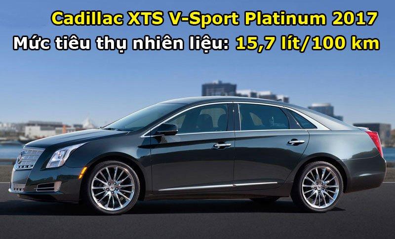 Cadillac XTS V-Sport Platinum 2017.
